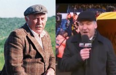 Snapshot: Ray Stubbs channels his inner Dinny from Glenroe for Leeds-Spurs game