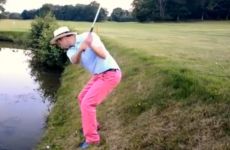 VIDEO: This is what happens when you play golf, drunk