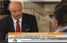 Dead girlfriend hoax: Dr Phil says prankster was 'in love' with Manti Te'o