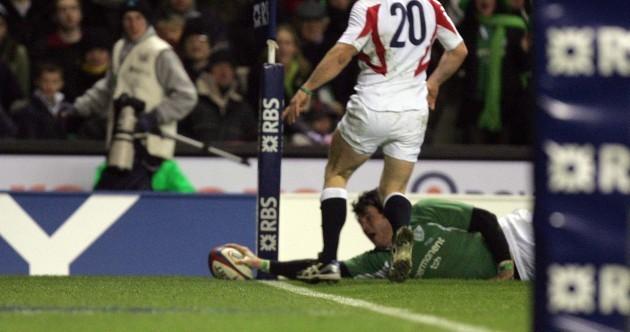 15 steps to a wonder-try: Shane Horgan's last-gasp winner v England, 2006