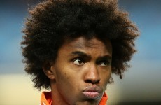 Done deal: Anzhi complete Willian €35m signing