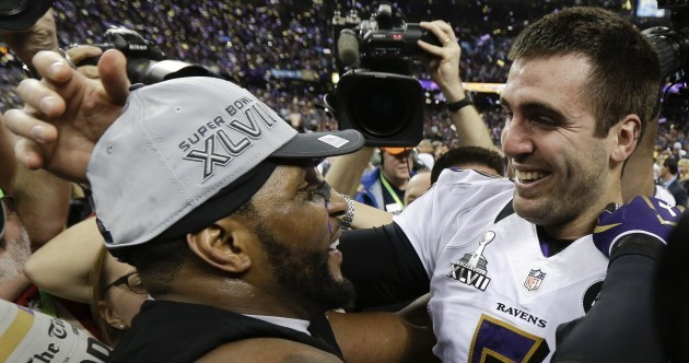 Lights out: Ravens survive 49er fightback to take Super Bowl