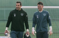 Ireland v Poland: David Forde set for number 1 shot