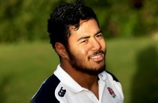 Ireland v England: Manu Tuilagi fit for trip to Dublin