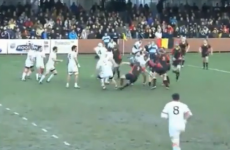 VIDEO: An almighty schemozzle at the 6 Nations B game between Belgium and Georgia