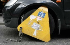 VIDEO: Real-life Homer Simpson tries to drive a clamped car through Dublin