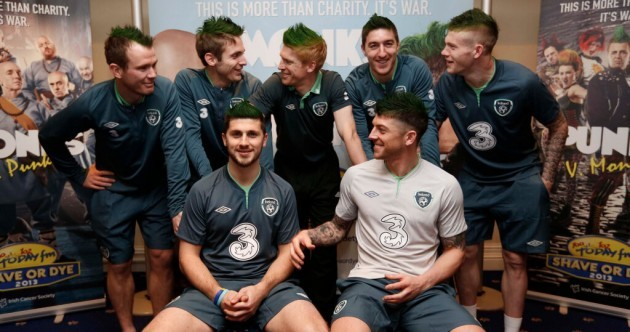 New tactics? Ireland go green to promote 'Shave or Dye 2013'