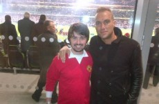 The Dredge: Look at Calum Best with this George Best lookalike at Ireland v Poland