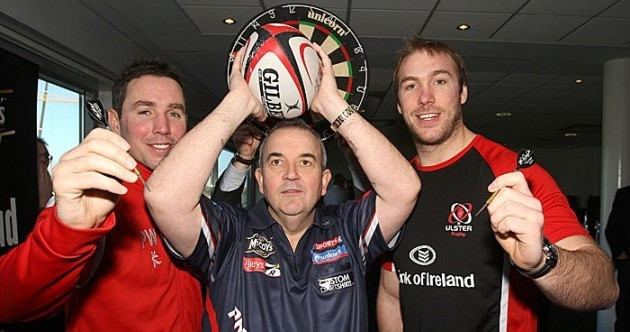 Snapshot: Ulster pair take lessons from Phil 'The Power' Taylor