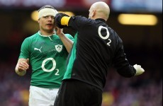 'It's great to have a warrior in your dressing room like Brian O'Driscoll'