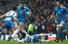 Report: 4-try Scotland dominate lacklustre Italians