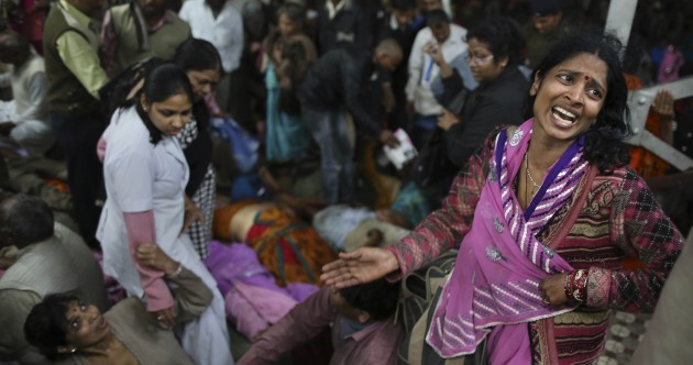 Stampede kills 36 people at India's Kumbh Mela festival