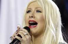 A US TV audience of 100m - and Aguilera fluffs her lines