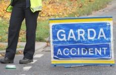 Three car collision causing delays on the M50