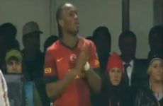 How long did it take Didier Drogba to score on his Galatasaray debut? All of 5 minutes