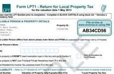 This is what the new Local Property Tax form will look like…