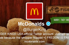 Burger King's Twitter page is hacked, gains 30k new followers