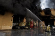 Rio Carnival costumes and floats destroyed by huge blaze