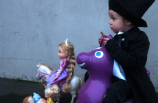 Presenting the 2013 Oscar nominees... as re-enacted by a toddler