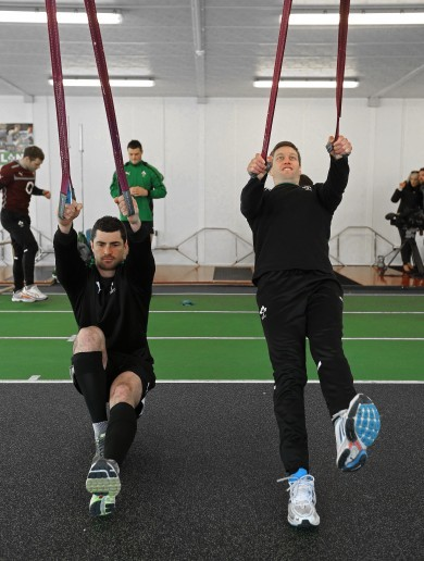 In pictures: Ireland's 6 Nations hopefuls back in business ahead of Scotland showdown