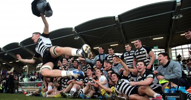 The best pictures from Roscrea's shock win over Terenure at Tallaght today