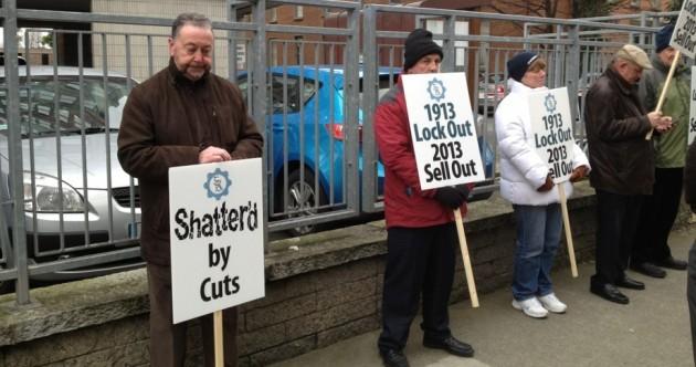 GRA hold protest outside Croke Park talks