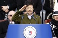 South Korea swears in first female president