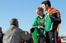 Coyle and Bailey win Ireland's first-ever World Cup medal