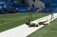 Who ordered the best faceplant from the NFL Combine?