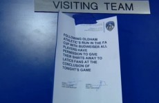 Oldham players CAN swap shirts after tonight's game with Everton