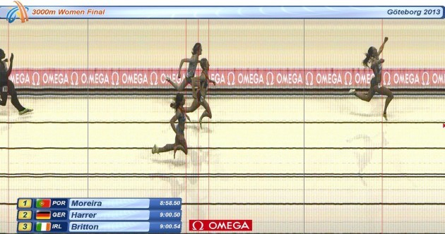 Brilliant Britton takes bronze at European Indoor Championships