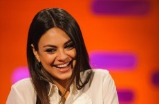 VIDEO: Mila Kunis talks Jägerbombs with nervous interviewer