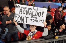 A little happy and a little sad: mixed emotions as Ronaldo sends United packing