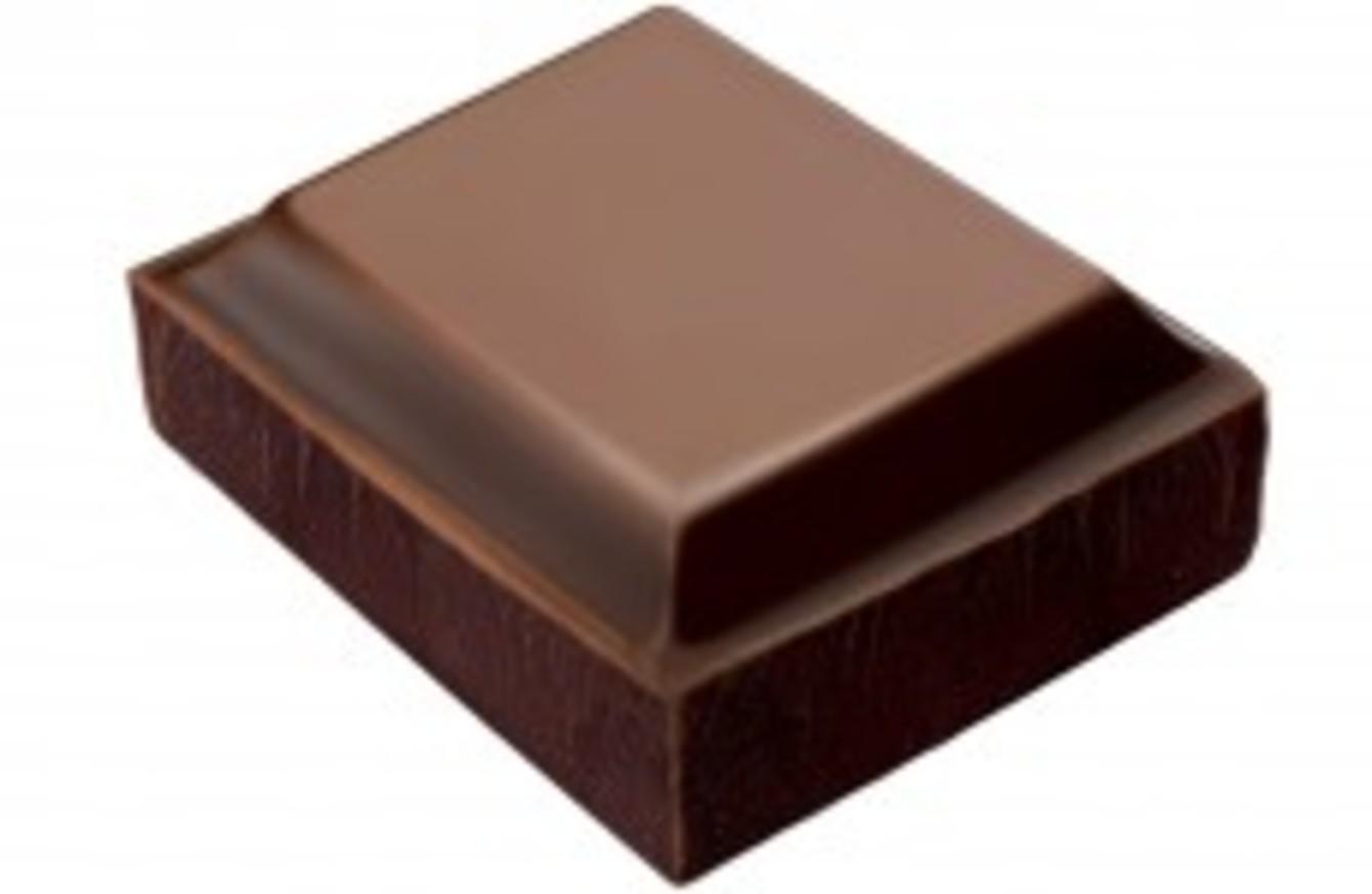 Piece Of Dark Chocolate