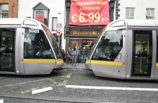 Luas red line delays of up to an hour