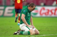 Trapattoni confirms Richard Dunne will miss Sweden and Austria matches