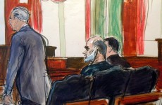 Bin Laden son in law pleads not guilty to terror