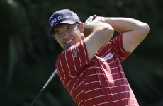 What the world is waiting for: A picture of Padraig Harrington in glasses