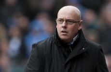 Reading sack manager Brian McDermott