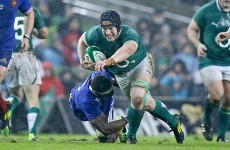 'I kind of got him perfectly' - Sean O'Brien on bulldozing Yoann Huget