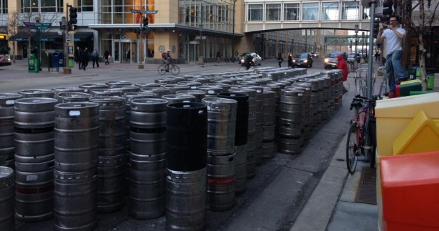 PIC: St Patrick's Day delivery to a single Irish pub