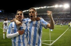 VIDEO: Malaga continue dream European run with late win over Porto