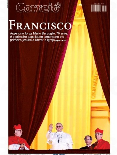 FRONT PAGES: Pope Francis dominates the new and old worlds' newspapers