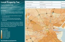 579 people pay the property tax in its first week