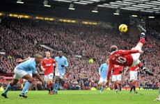 Is Rooney's goal the best of the season?