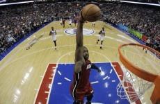 VIDEO: Dwyane Wade slams home 3/4 court alley oop