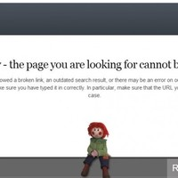 The best 404 error pages of any websites
