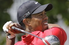 Tiger Woods collapses again in Dubai
