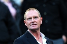 'I'm not drinking today' says Paul Gascoigne as he tries to battle back from the brink