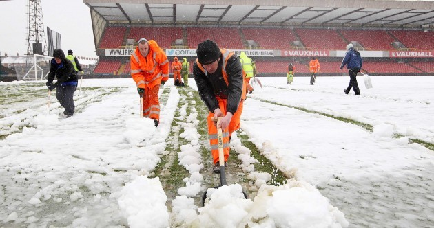Surprise, surprise: Northern Ireland vs Russia has been called off